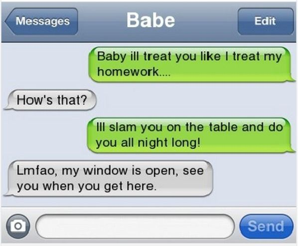 Funny text pick up lines