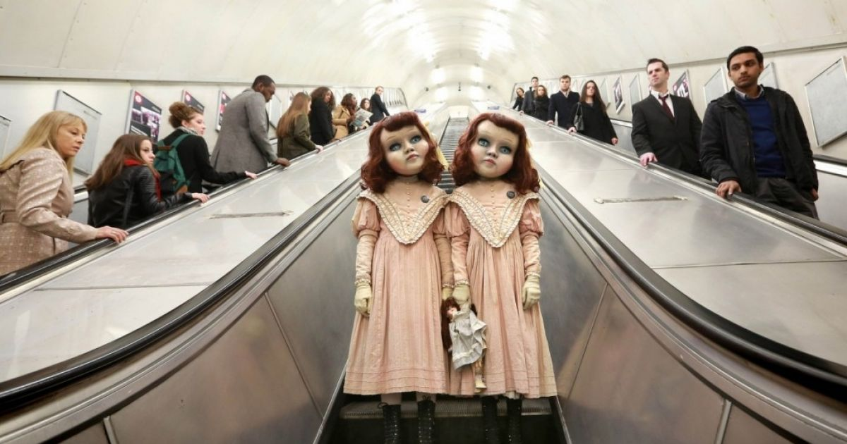 These Life-Size Dolls Just Terrified Everyone On The London Subway