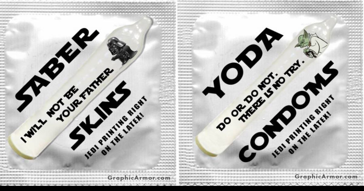 These Star Wars Condoms Are The Contraceptive That Every Nerd Needs