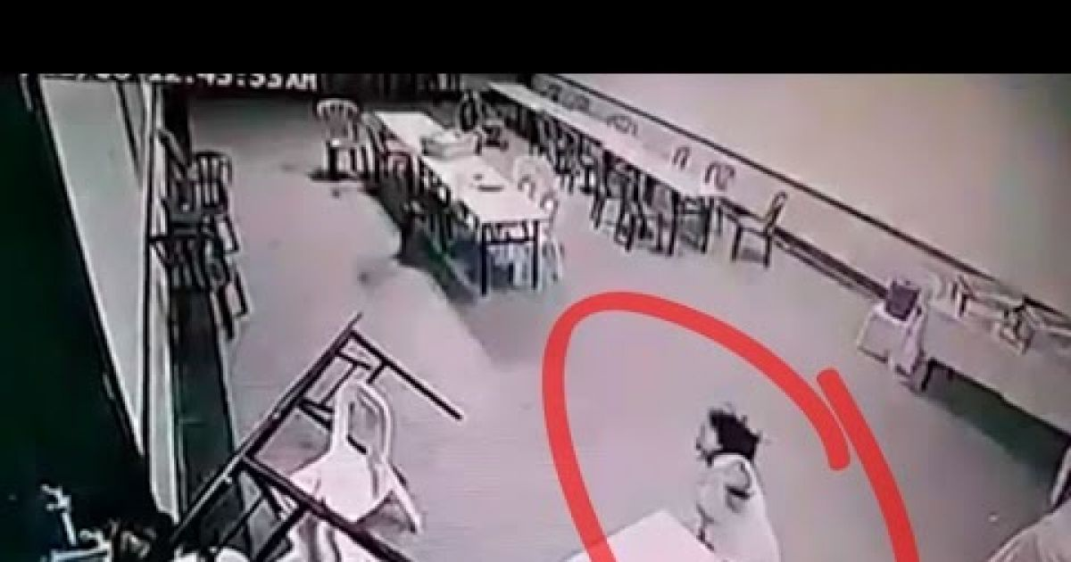 Creepy Footage Of A Ghost Attacking A Woman Goes Viral