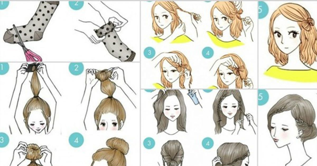 7 Cute Hairstyles That Are Extremely Easy To Do