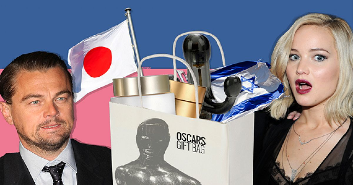 The Oscars Gift Bag Is Worth $230k And Will Make You Sick