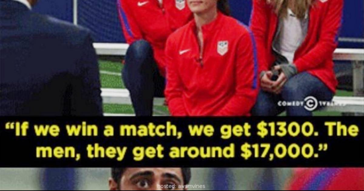 The Pay Gap Between Men's And Women's Soccer In The USA Has People Furious