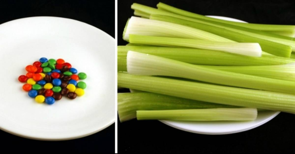 This Is What 200 Calories Of Your Favorite Snacks Looks Like.