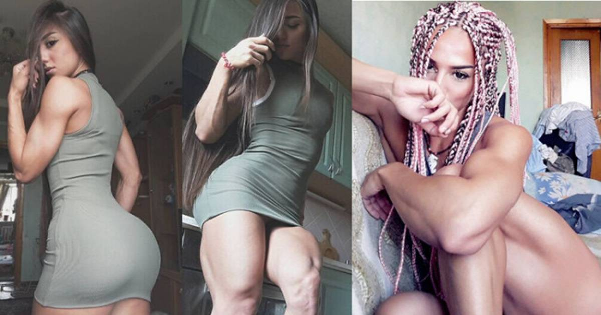 "BUNS OF STEEL! Meet the Fitness Model Who Has Been Branded ""Miss Iron Bum"""