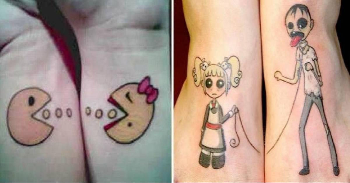 Horribly Cringe-Worthy Couple Tattoos