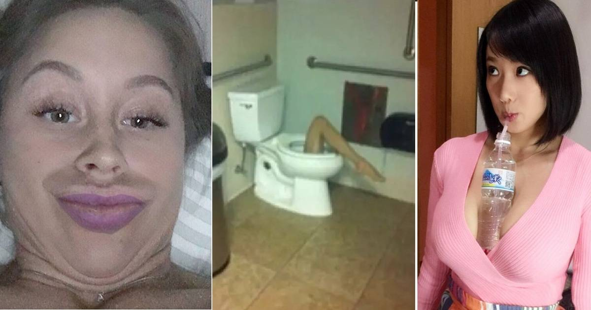 These Might Be Some Of The Strangest Pics You Ever See.