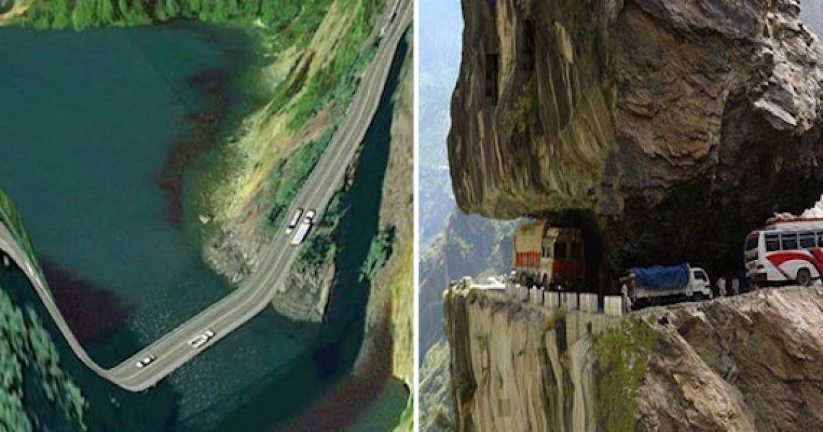 12 Roads That Are Scarier Than Roller Coasters