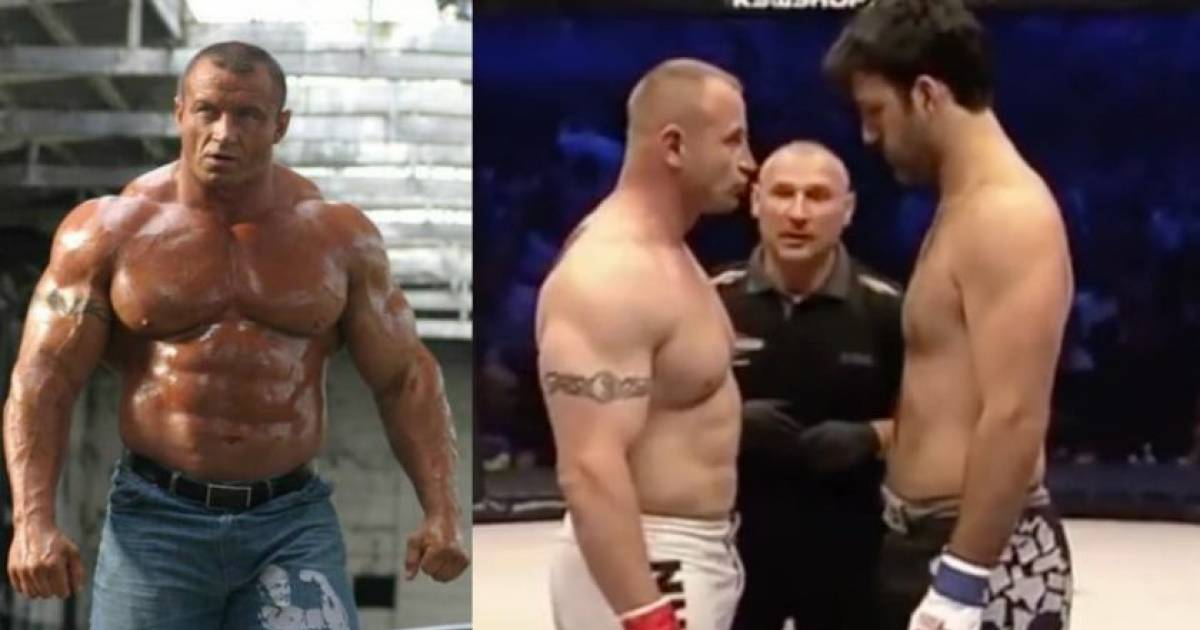 What Happens When A 4th Degree Black Belt Fights The World's Strongest Man? Destruction!