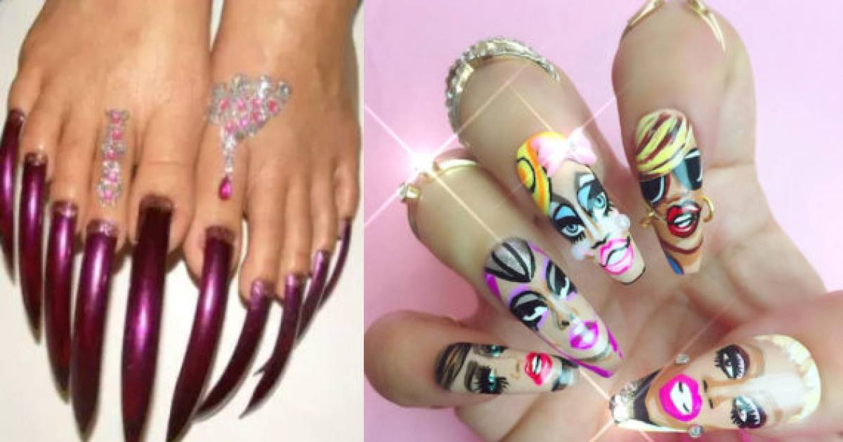 "People Who REALLY Didn\'t ""Nail"" Their Nail Art 