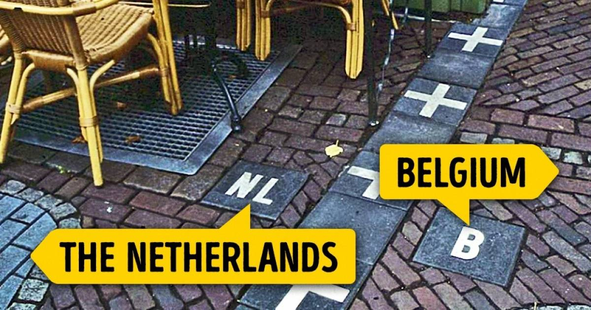 13 Eye-Opening International Borders From Around The World.