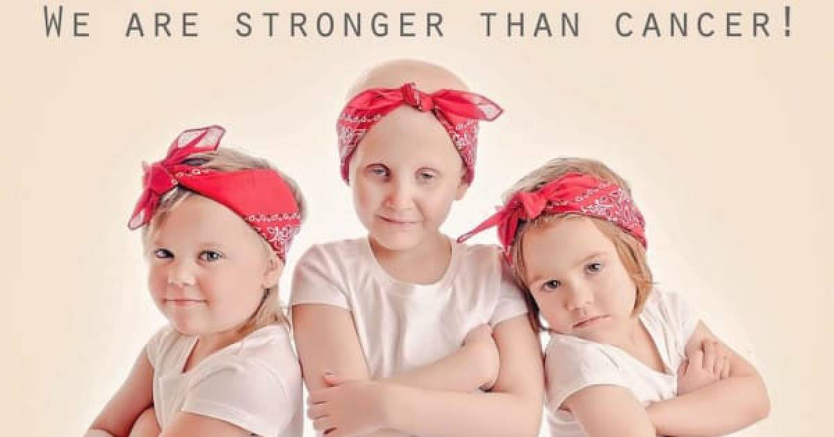 Young Cancer Sufferers Behind Viral Portrait Reunite For New Image