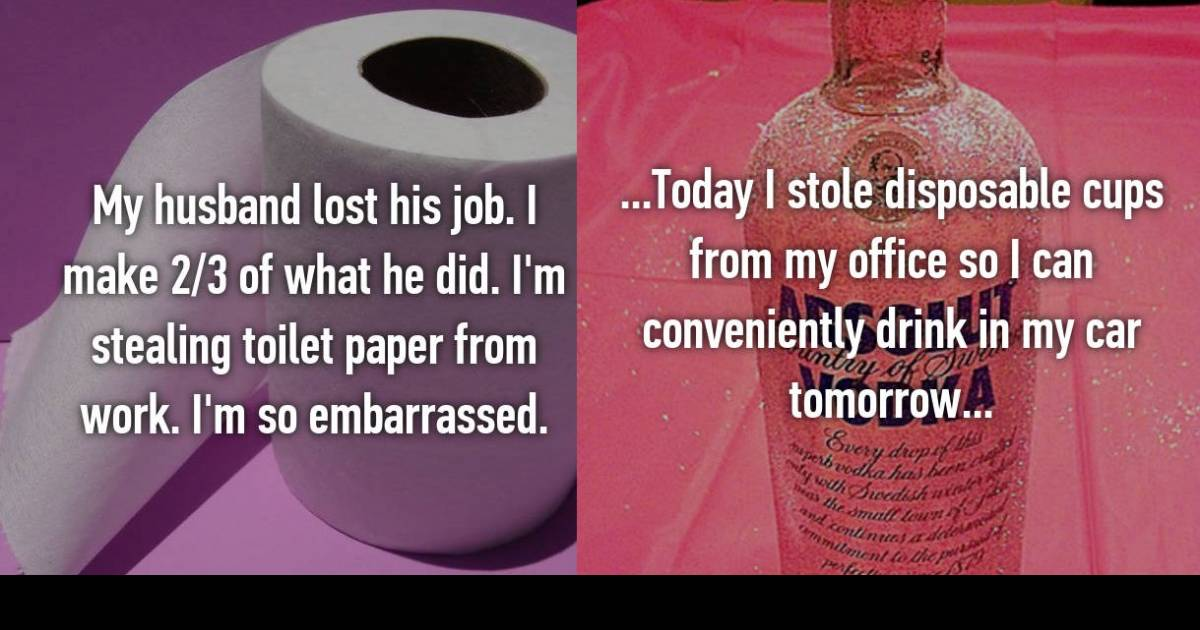 Employees Confess About The Things They Steal From Work