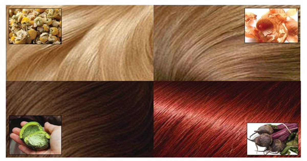 How To Change The Color Of Your Hair With Natural Ingredients ...