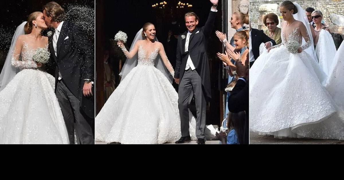 Gemstone Heiress, Victoria Swarovski, Marries To Her Longtime Beau, In A Lavish Wedding Ceremony In Italy