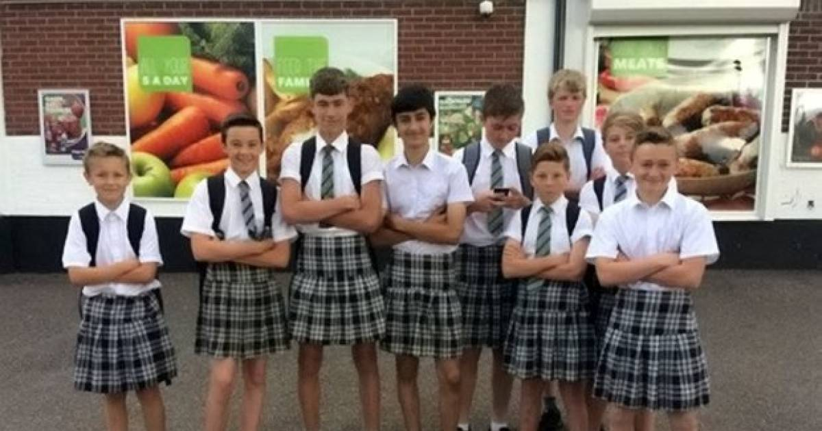 Students Fight School Rules By Showing Up To School In Skirts