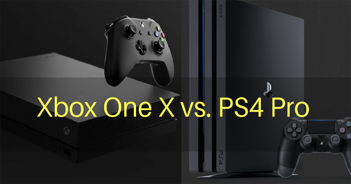 Xbox One X Vs PS4 Pro: Which Gaming Powerhouse Should You Buy?