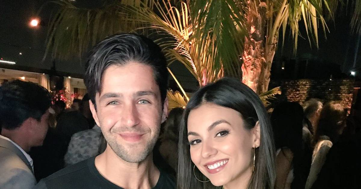 Victoria Justice & Josh Peck's Adorable Nickelodeon Reunion Is All That We Need To See Today On The Internet