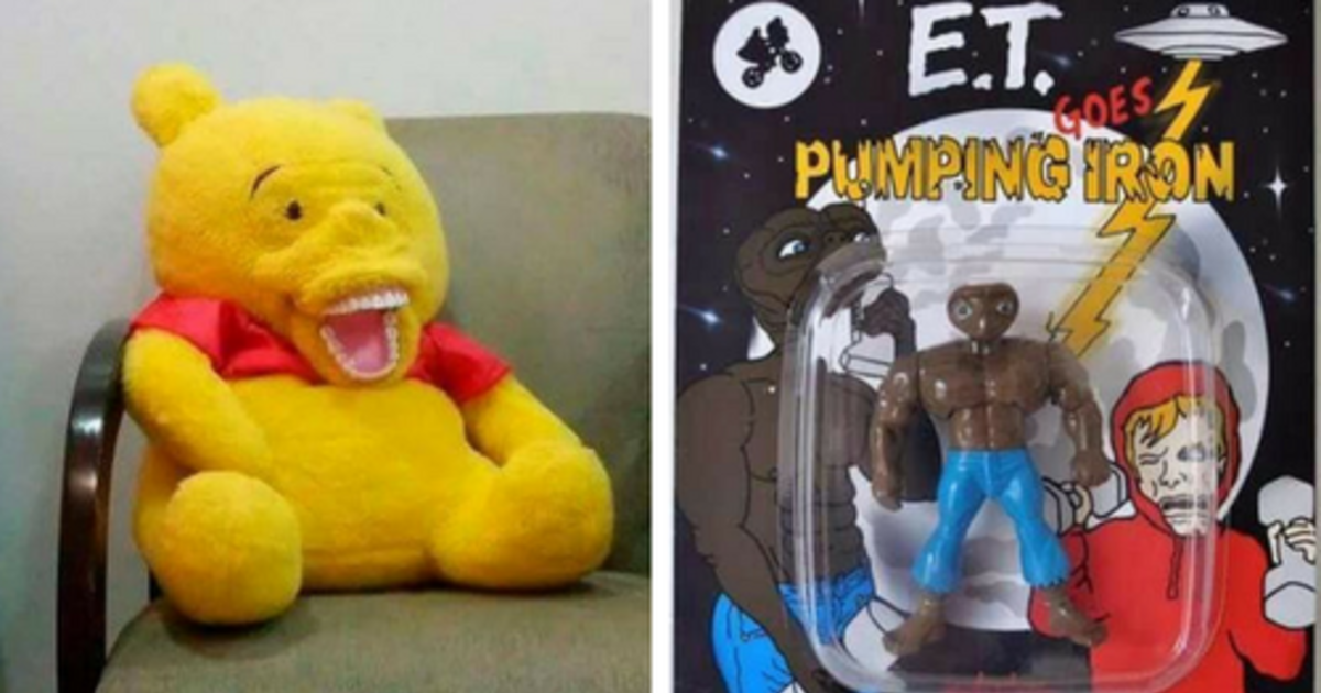 Completely Bizarre Knock Off Toys That Are Guaranteed To Haunt Your Dreams