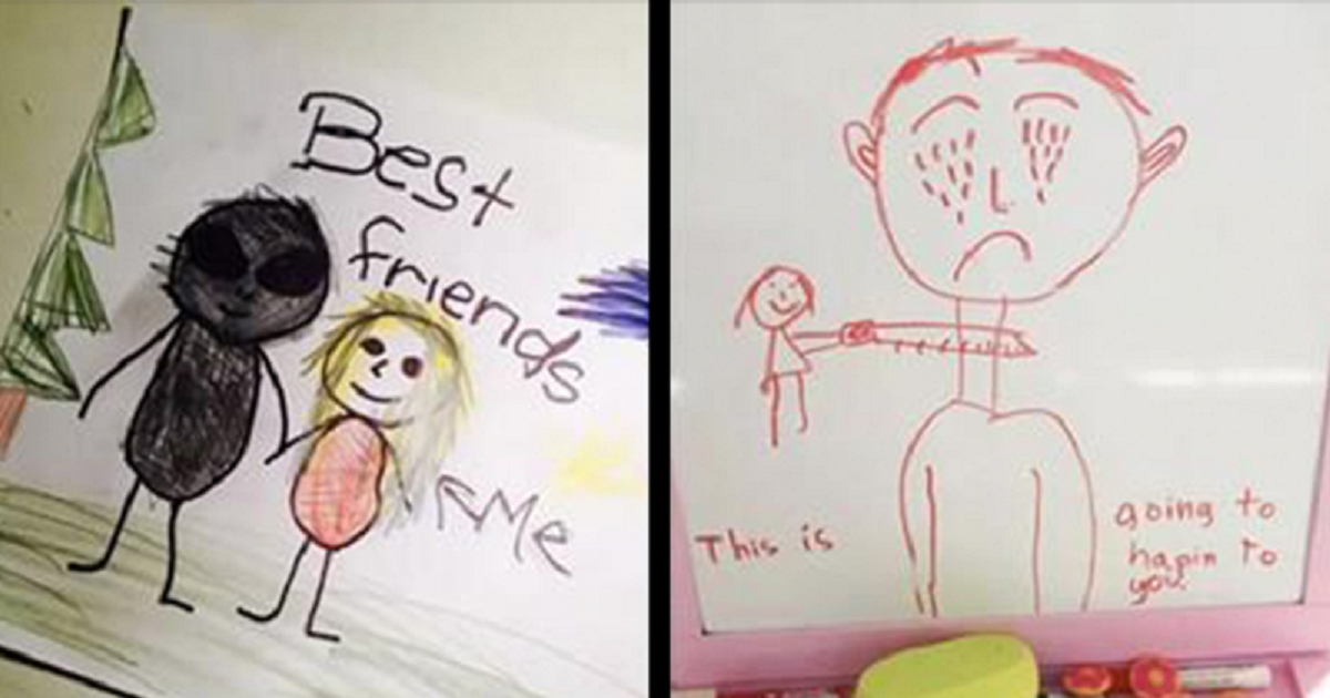 Disturbing Children's Drawings That Will Leave You Horrified