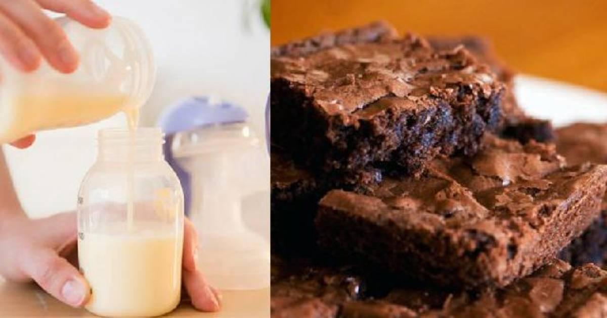 Mom Uses Breast Milk To Make Brownies For School Bake Sale!