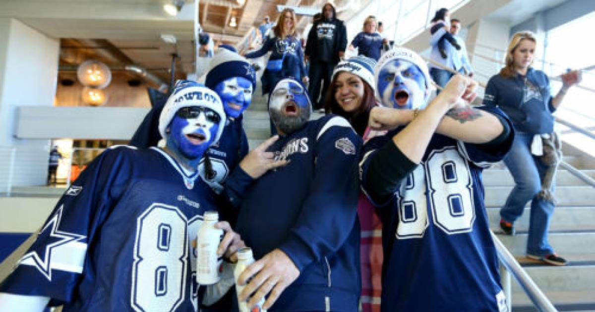 A New Study Has Found That People Who Are Dallas Cowboy Fans Are 100% More Likely To Be Assholes.