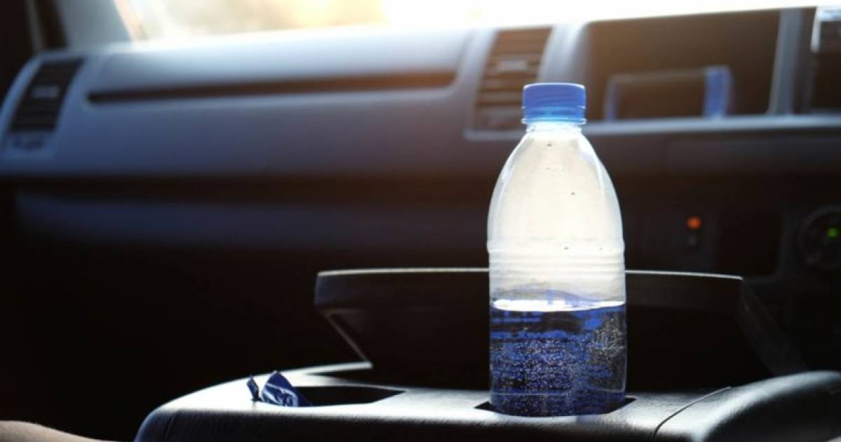Why You Should Never Leave A Water Bottle In A Hot Car