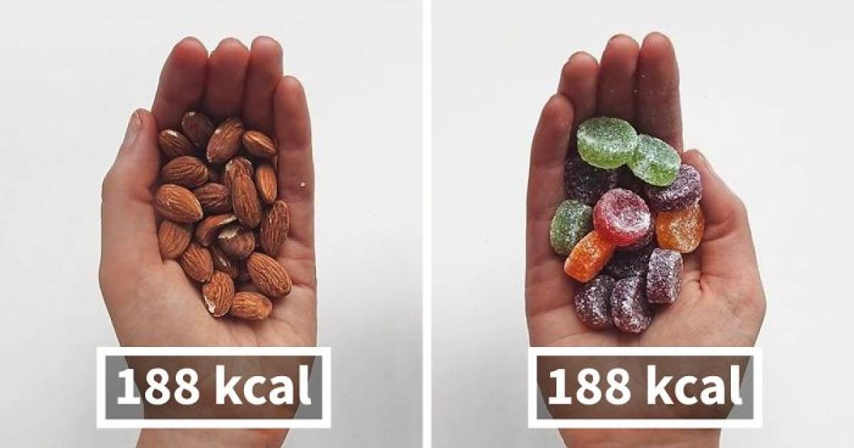 Fitness Blogger Shares Food Comparisons To Change The Way You Think About Food And The Internet Loves It