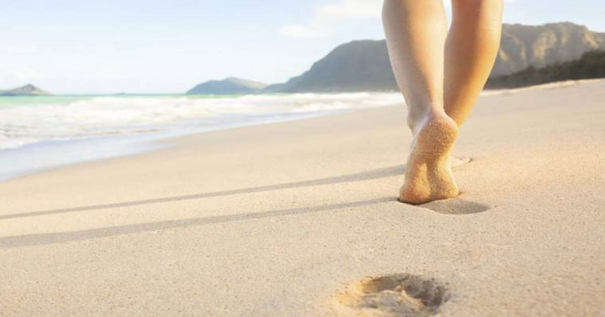 The Health Benefits Of Going Barefoot Outside