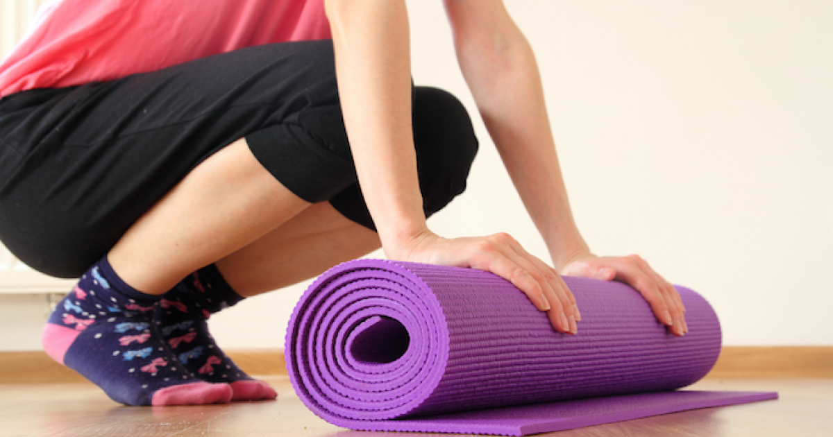 The Chemicals In Your Yoga Mat Could Cause Infertility. Here's What To Do About It