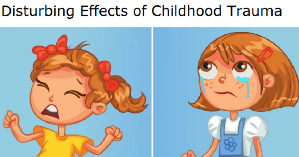 Disturbing Effects Of Childhood Trauma