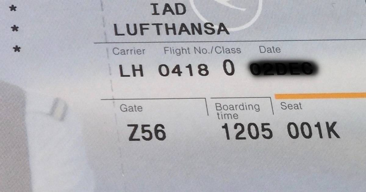 The Mysterious 'SSSS' Code You Never Want To See On Your Boarding Card Before Flying