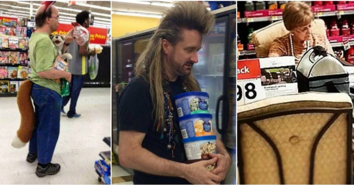 15 Types Of People You Meet At Walmart