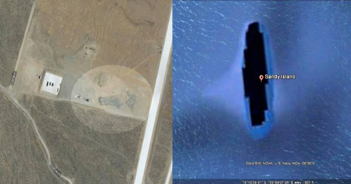Super Creepy Places That Are Hidden From Google Maps