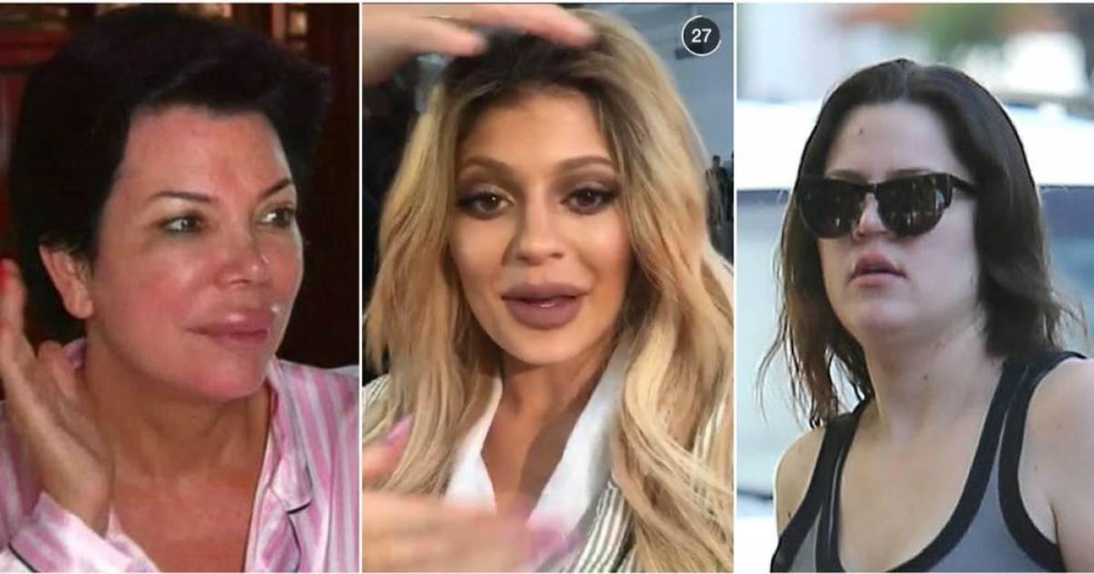 Photos That Prove That The Kardashians Are Actually Hideous.