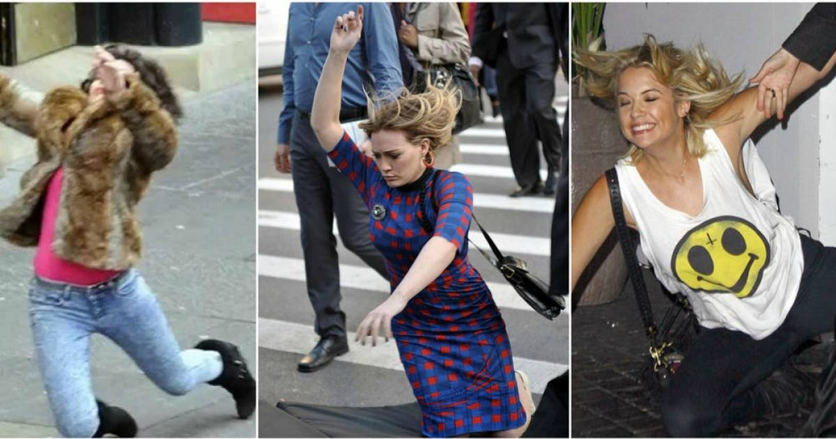 Celebs Who Totally Fail At Walking In Heels.