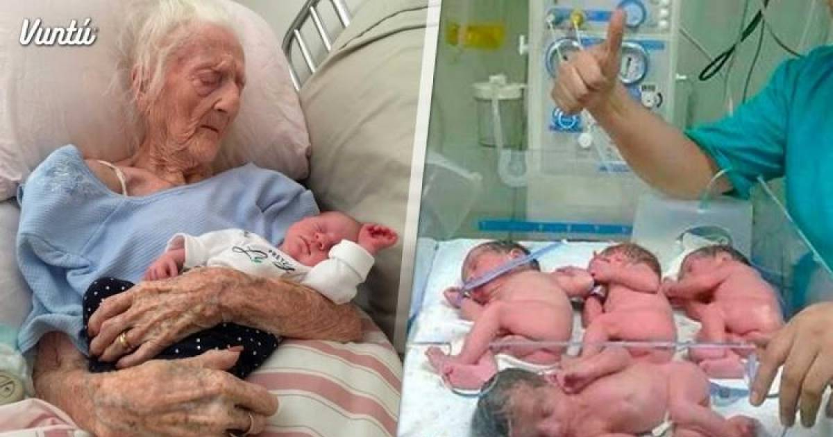 At The Ripe Old Age Of 65, She Gave Birth To Quadruplets And You Won't Believe Who The Father Is