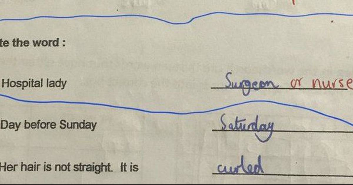 Little Girl Has Perfect Response To Sexist Homework Question