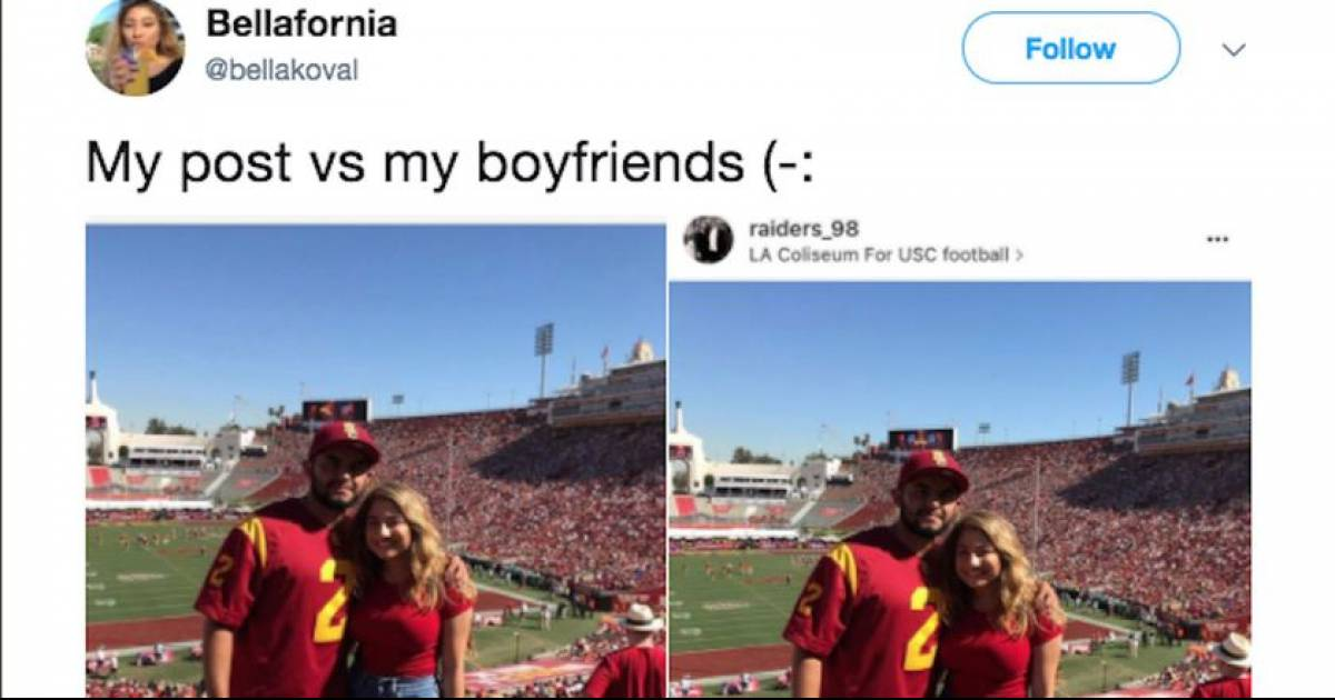 This Woman Is Being Told To Dump Her BF After Sharing His Instagram Caption