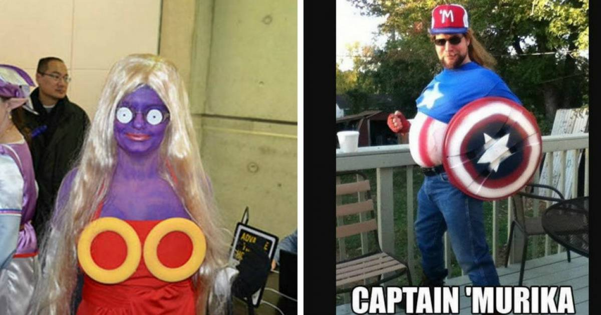 Most Embarrassing Cosplay Photos That Make Us Cringe