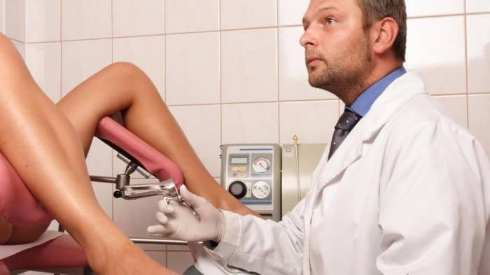 Порно у гинеколога и пациентки