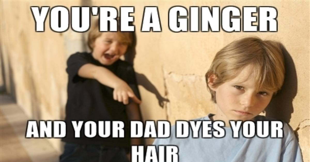 Ginger Bullying - An Acceptable Prejudice?