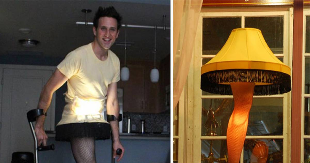 Man With One Leg Has The Perfect Costume Every Halloween