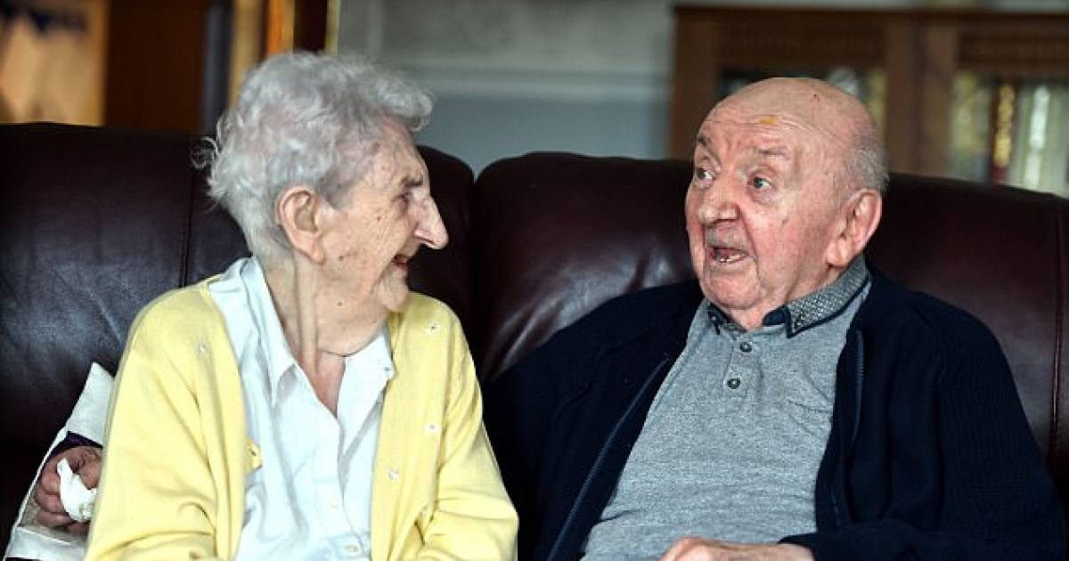 98 Year Old Woman Moves In To Take Care Of Her 80 Year Old Son