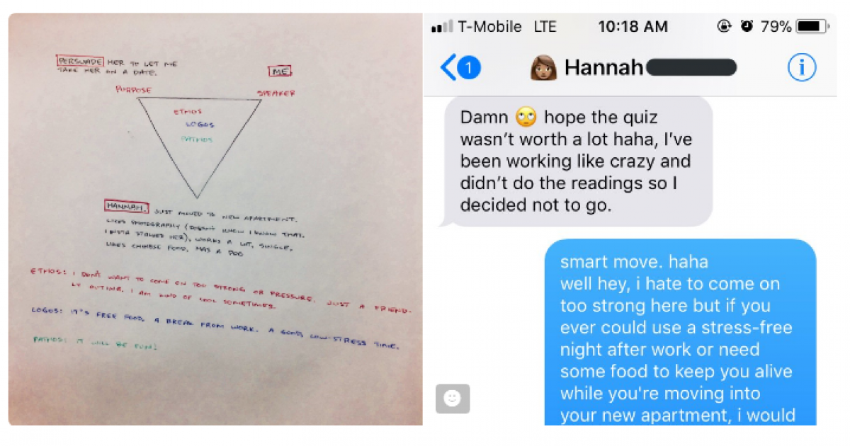 Student Asks Professor How To Ask A Girl Out On A Date And Now People Are Taking Notes