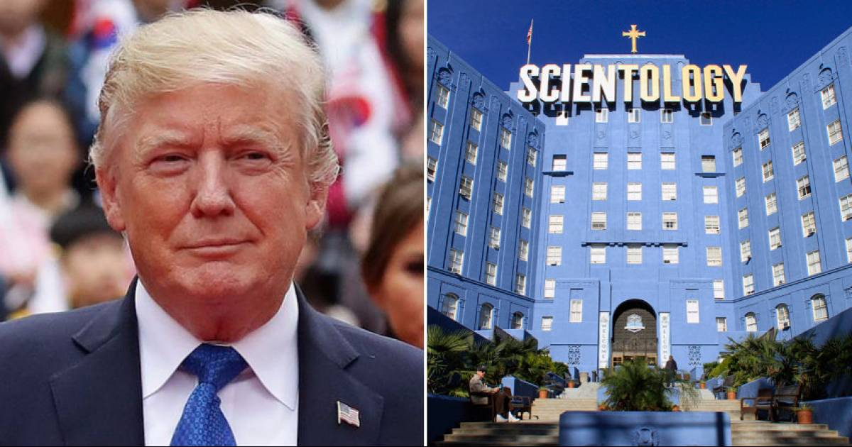 Trump Wants Scientology To Lose Its Tax-Exempt Privileges