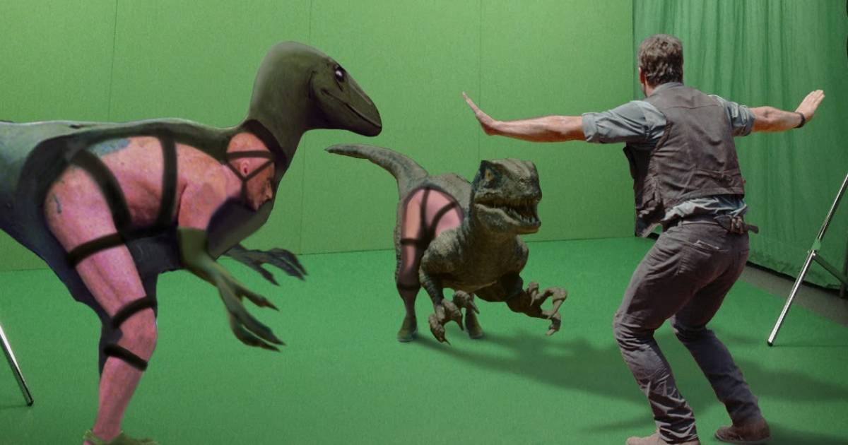 When You Remove Those Snazzy Visual Effects This Is What Hollywood Blockbusters Really Look Like.