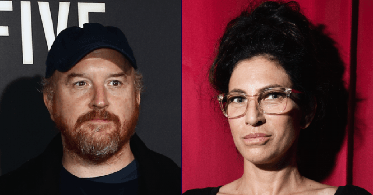 Sarah Silverman's Sister Says Louis C.K. Got Naked And Masturbated Infront Of Her