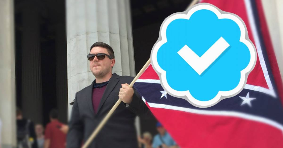 "No Verified Marks For You ""White Nationalists"" Said Twitter"