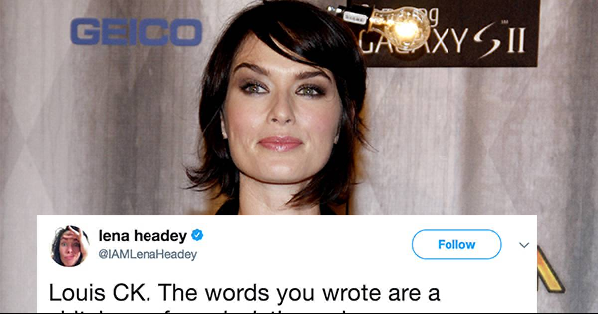 Lena Headey Went Full Cersei Lannister On Louis C.K. And She Couldn't Have Been More Savage
